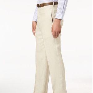 Ralph Lauren Classic-Fit Solid Tan Dress Pants